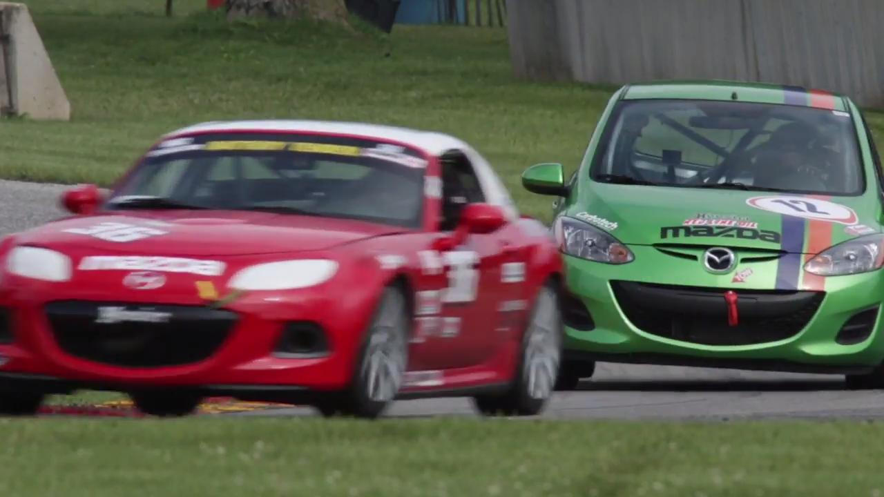 The Chicago Region of the Sports Car Club of America June Sprints this weekend is an annual event that features both new and long time club racers.